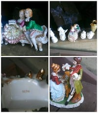 assorted ceramic figurines photo collage Oroville, 95966