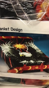 Eagle n sun queen plush blanket  Calgary, T2A 2K2