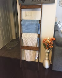 Decorative Ladder - Dark Walnut Brampton, L6V 0V6