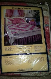 Country Classics full Queen Patchwork quilt Ashland, 44805