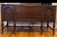 Beautiful antique buffet  beautiful details.  Andover, 01810