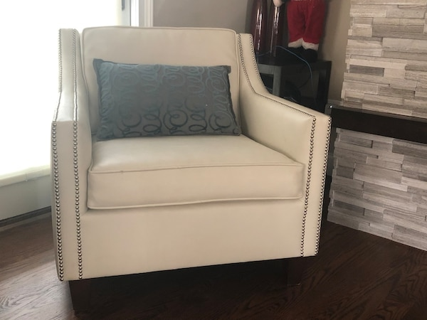 Used Custom Nailhead Trim Club Chair For Sale In East