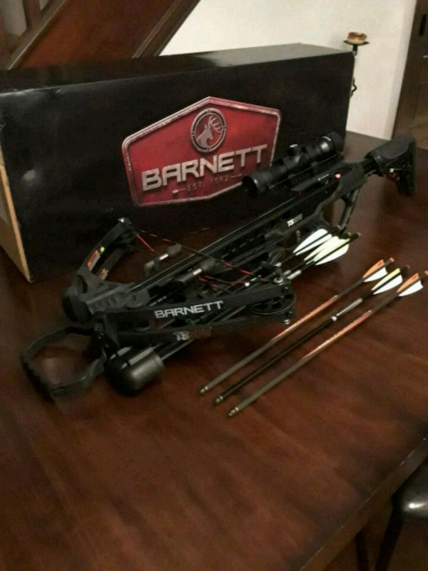 Barnett crossbow basically new