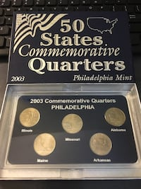2003 commemorative Quarters East Petersburg, 17520