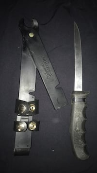 Cutco Black handled knife with sheath (OBO) McAllen
