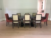 Solid wood dining set - table, 8 chairs, sideboard  Mississauga, L4Z 4C4