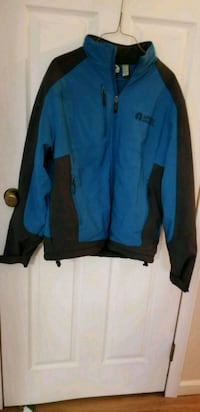 blue and black zip-up mens small jacket Fort Edward, 12828