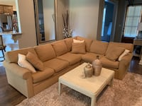 Rowe Brentwood custom sectional from Malouf furniture 829 mi