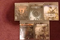 5 PlayStation 3 Games Lowell, 01852