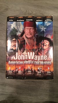 John wayne 1,2,3,4 and 5 vhs cases Countryside, 60525