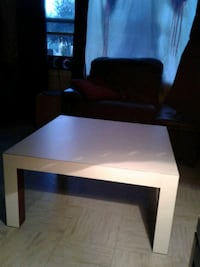 Square white wooden coffee table Calgary, T3B 0T3