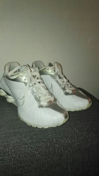 Nike Shox NZ - White / Silver str. 38
