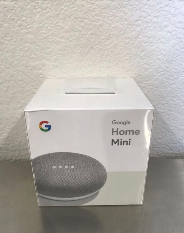Brand new Google Home Mini - Chalk