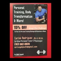Workout/Personal Training Silver Spring