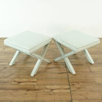Pair of Upholstered Stools (1027655)