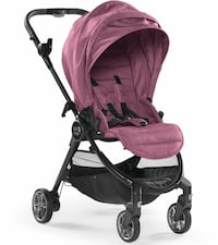 Baby Jogger City Tour LUX Barnvagn - Rosewood STOCKHOLM