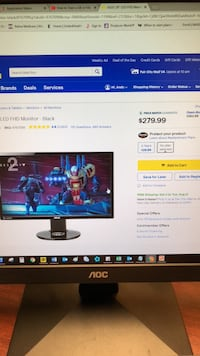 Asus Vg248qe 144hz gaming monitor Annandale, 22003