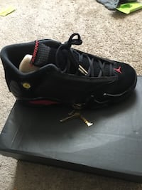 pair of black Air Jordan basketball shoes Rockville, 20850