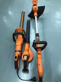 Black&decker Combo Set Sale. Electric Hedge Trimmer,Blower, Weed Eater