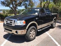 2007 FORD F150 KING RANCH 4x4 CLEAN TITLE 2500$ DOWN PAYMENT