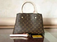 brown Louis Vuitton monogram leather tote bag Chicago, 60607
