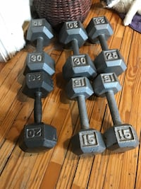 135lbs of weights for $120   Guelph, N1H