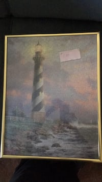 Puzzle picture of a lighthouse