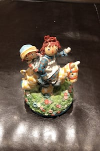 Raggedy Anne and Andy Music Box Vaughan, L6A 2J8