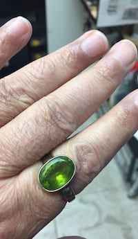 green and yellow gemstone ring Annapolis, 21401