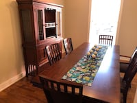 Dining Table / China Cabinet / Hutch