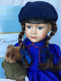 Limited edition Chantal Poulin collectible doll Vaughan, L4L 8W6
