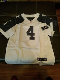white and black #4 jersey Duncan, 29334