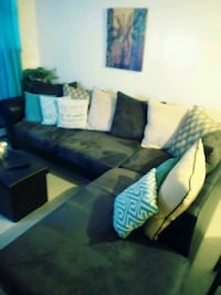 blue and white sectional couch Bronx, 10460