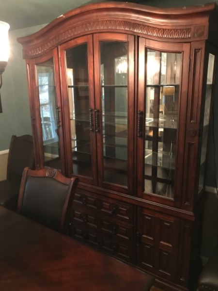 Dining Room Set With 8 Chairs And China Cabinet