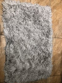 Sparkly decorative rug. 30 by 45 inches