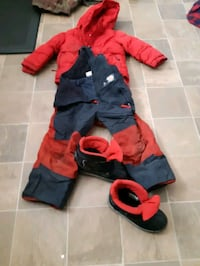 size 4 and 5  jacket is 6/oys snow suits and boots Calgary, T2B 0Y9
