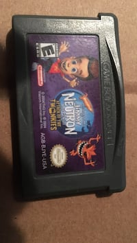 Black nintendo game boy advance