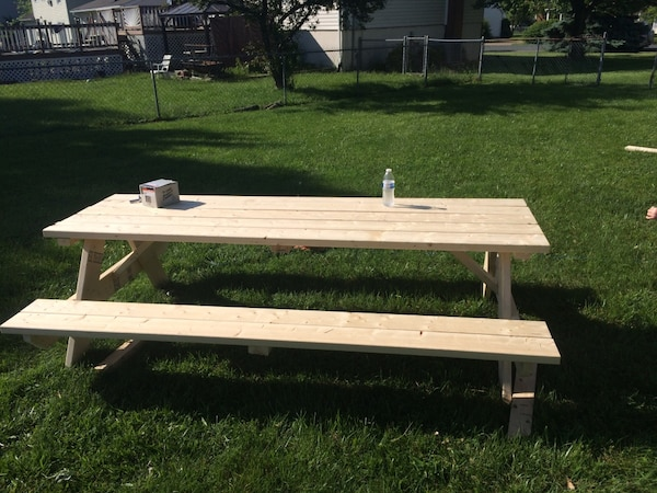 Used Home Made Picnic Tables For Sale In Stephens City Letgo