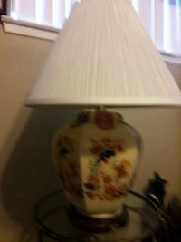 1950'S GORGEOUS HAND PAINTED TABLE LAMP Anaheim, 92804