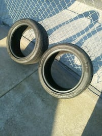 Two Low Pro Tires. Whittier, 90604