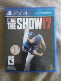 PS4 MLB THE SHOW 17 BASEBALL VIDEO GAME Pickering, L1V 3V7