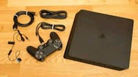 black Sony PS4 with DualShock 4 Derry, 03038