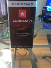 Commando french mens colonge  100ml box