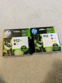Hp 952XL Black & Color Ink cartridges Ashburn, 20147