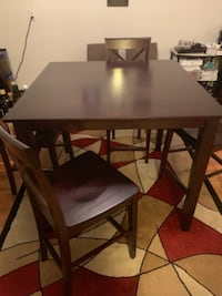Dining room table with chairs  LANHAM