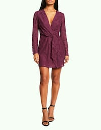 BNWT BURGUNDY LACE DRESS Toronto, M5B 2H5