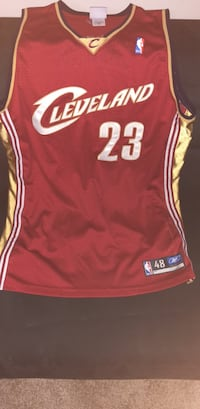 Lebron James Rookie Jersey 100% Authentic Chantilly, 20152