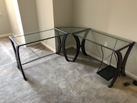 Coaster glass work table item number 800446 Mc Lean, 22102