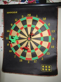 Double sided magnetic dart board *NEW* UNOPENED BRAMPTON