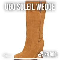 unpaired brun suede UGG boot Oslo, 1083
